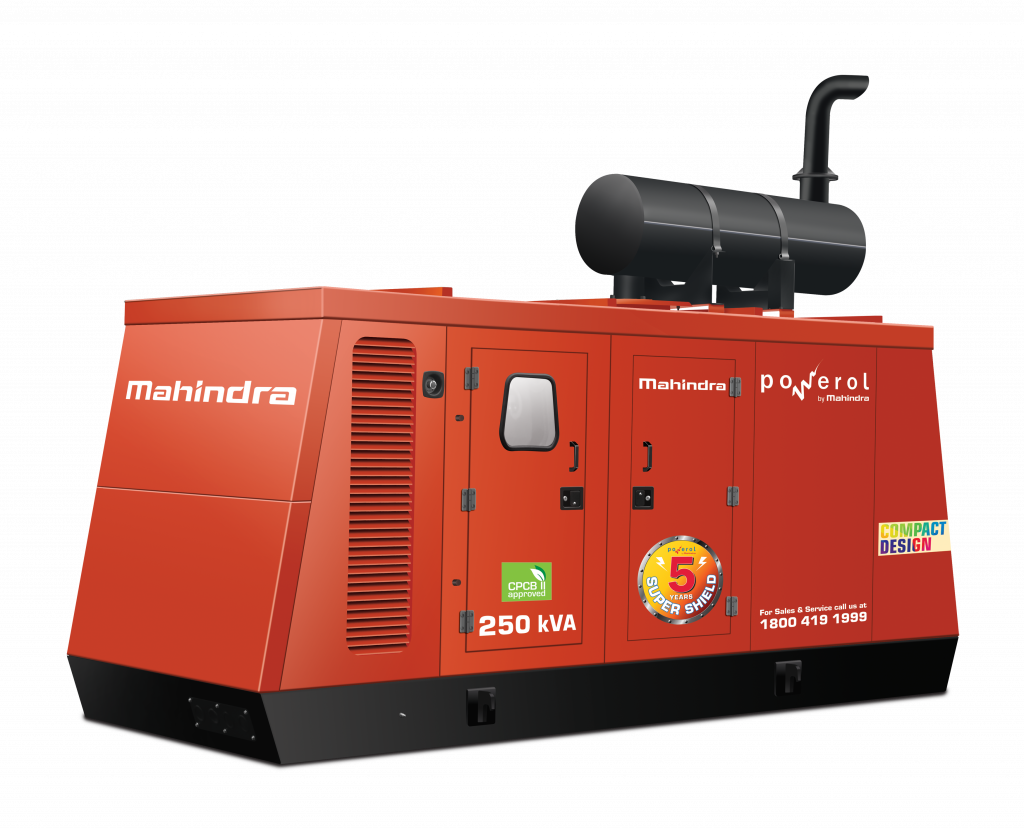 Powerol By Mahindra Diesel Generators
